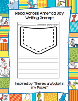 There's a Wocket in my Pocket Read Across America Writing Prompt