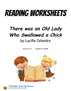 There was an Old Lady Who Swallowed a Chick  by Lucille Co
