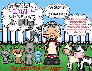 There was an Old Lady Who Swallowed a Fly (Story Companion)