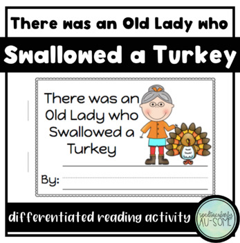 There was an Old Lady who Swallowed a Turkey - visuals and