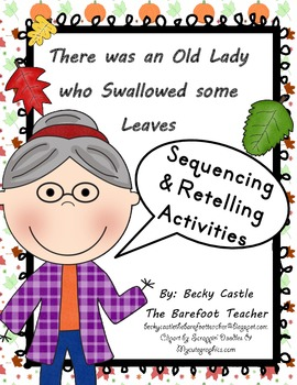 There was an Old Lady who Swallowed some Leaves sequencing
