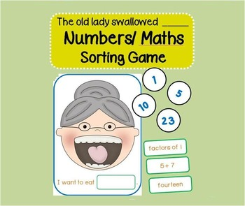 There was an old lady who swallowed a Number (Number Sorti