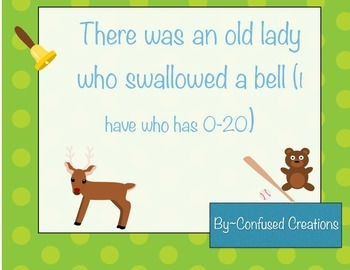 I have Who Has Old Lady Swallowed Bat