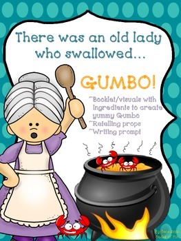 There was an old lady who swallowed... (ingredients to mak