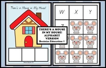 There's a Mouse in My House Alphabet Game