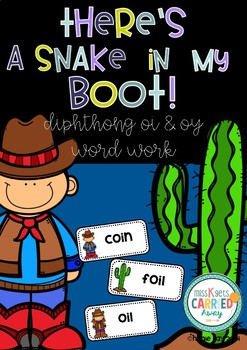 There's a Snake in my Boot! Vowel Diphthong oi (oi & oy) words