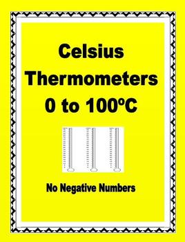 Thermometers - Celsius Thermometers 0 to 100 Degrees - FREEBIE