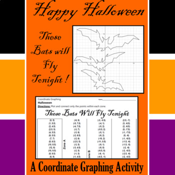 Halloween - These Bats will Fly Tonight- A Coordinate Grap