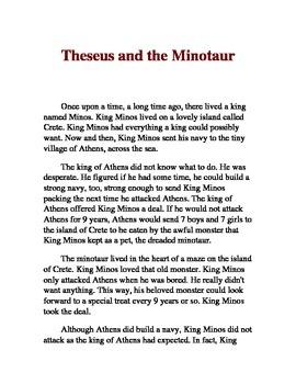 Theseus and the Minotaur Myth