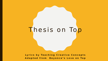 Thesis on Top