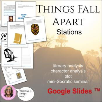 Things Fall Apart: 10 Literacy Stations: Common Core: Cult