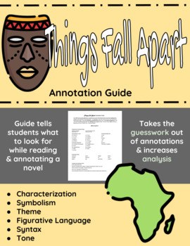 Things Fall Apart Annotation Guide