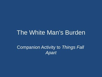 """Things Fall Apart: Comparing Art and Poetry with """"The Whit"""