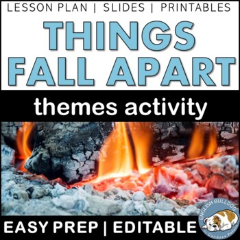 Things Fall Apart Themes Textual Analysis Activity