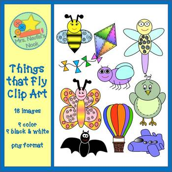Things That Fly Clip Art
