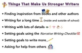 Things That Make Us Stronger Writers