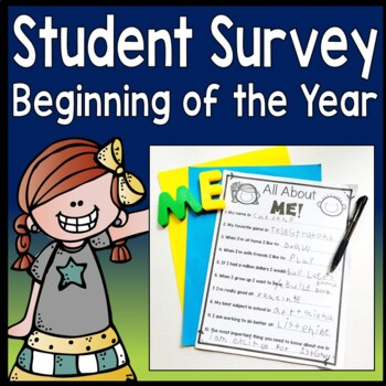 Student Survey - Beginning of Year Student Survey