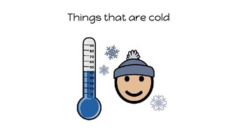 Things that are Cold-Concept Book