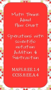 Think Aloud Addition/Subtraction with Scientific Notation