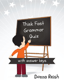 Think Fast Grammar Quizzes and Answer Keys