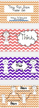 Think Pair Share Poster Set