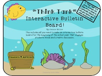 """Think Tank"" Interactive Bulletin Board HOT!"