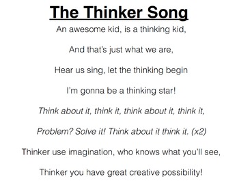 Thinker Song (Instrumental)