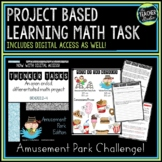 Thinker Tasks:  Amusement Park Math Problem Solving Projec