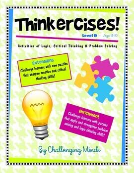Thinkercises (Level B)  Activities of Logic, Critical Thin