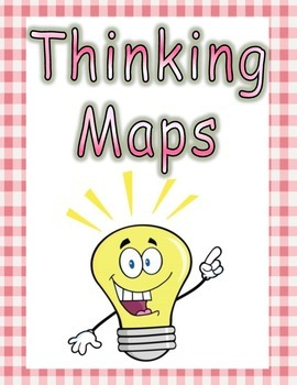 Thinking Maps Posters Pink & White Color Scheme