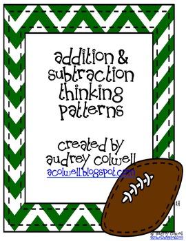 Thinking Pattern Posters - Footballs