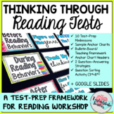 Test Taking Strategies and Test Prep Minilesson Framework