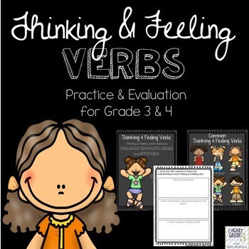 Thinking & Feeling Verbs - Canadian and American Spellings