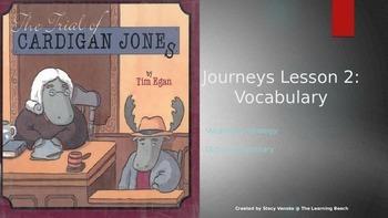 Third Grade 2014 Journeys *Vocabulary* Lesson 2:  The Tria