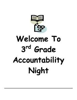 Third Grade Accountability Night