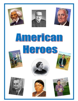 Third Grade American Heroes Packet: Reading Comprehensions