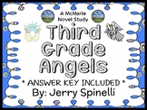 Third Grade Angels (Jerry Spinelli) Novel Study / Reading