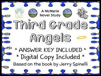 Third Grade Angels (Jerry Spinelli) Novel Study / Reading