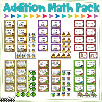 Addition Math Pack