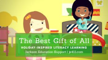 Third Grade Christmas Comprehension Lesson (Passage & Answ