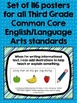 """Common Core """"I Can"""" Statements Posters for Third Grade {En"""