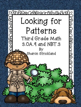 Third Grade Common Core Math 3.OA.9 and 3.NBT.3- Add. and