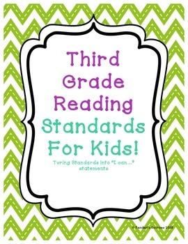 Third Grade Common Core Reading Standards