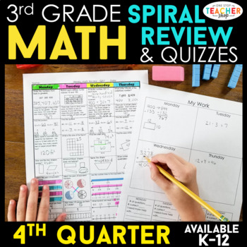 3rd Grade Math Homework 3rd Grade Morning Work for 4th Qua
