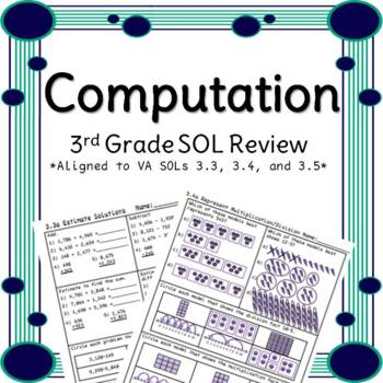 Third Grade Computation Review