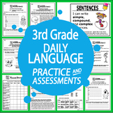 3rd Grade Language Practice and Assessments