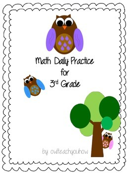 Third Grade Daily Math Practice