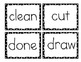 Third Grade Dolch Word Cards