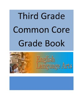 Common Core ELA Third Grade Record Book