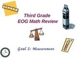 Third Grade EOG Math Review-- Goal 2: MEASUREMENT